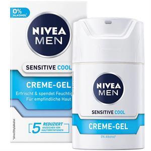 Nivea Sensitive Cool Dagcreme til Mænd - 50 ml.
