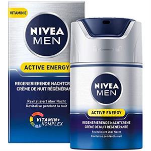 Nivea Natcreme til Mænd - 50 ml.