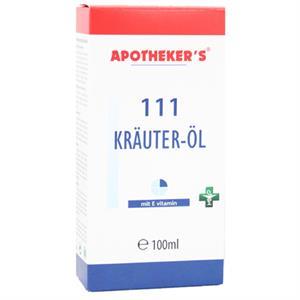 Massageolie med 111 Urter - 100 ml.