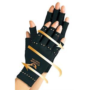 Handsker med kobberfibre