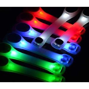 Luksus LED Løbelys med refleks - CE godkendt.