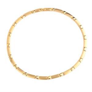 Magnet Golden Halskæde i Rustfri Stål. 3000 gauss pr. magnet.