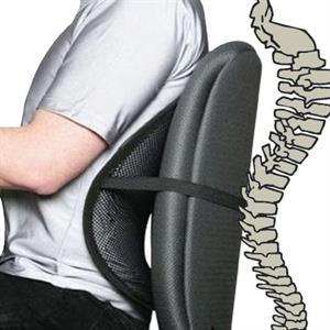 Ergonomisk rygstøtte - 1 stk.