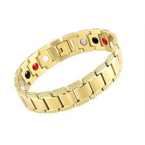 Gold Dot Magnetarmbånd i Titanium.