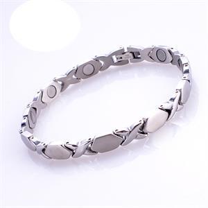 Silver X Titanium Magnetarmbånd.