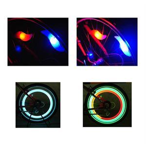 LED-lampa till cykelekrar - 3 ljusfunktioner.