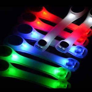 Luxuöst LED-ljus med reflex till löpning - CE-godkänt.