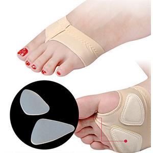 Anti-Slip förfotsbandage med Gelkuddar - 1 par.