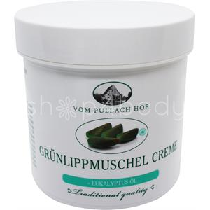 Grünlipp Muslingecreme med Eukalyptus - 250 ml.