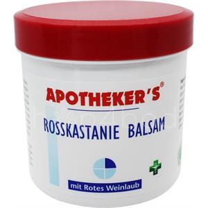 Hestekastanje Balsam med rødvinsblade - 250 ml.
