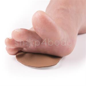 Förfotspelott i PU-läder (1 par)