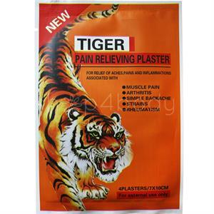 Anti-smärtplåster - 1 paket med 4 st.