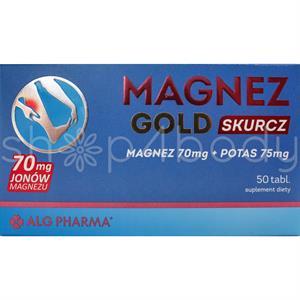 Magnez Gold Skurcz - 50 tabletter.