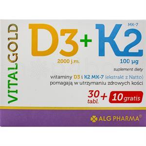 Vital Gold - Vitamin D3 och Vitamin K2