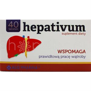 HEPATIVUM - 40 tabletter