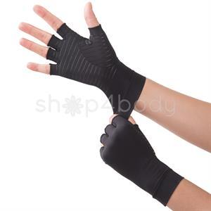 Kobber Kompressions Handsker - 1 par.