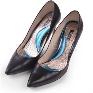 3/4 Gel såler til sko m. høj hæl - 1 par.
