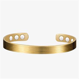 Striata Koppar Magnetarmband - 1 st.