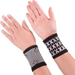 Håndledsstøtte med Magneter - 1 par.