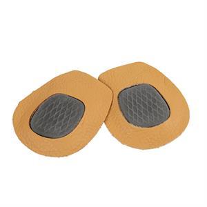 Læder Forfodsindlæg med Latexskum - 1 par
