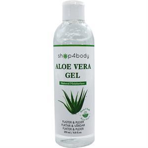 Økologisk Aloe Vera Gel - 250 ml.
