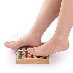 Massagebræt i Træ til fødderne - 1 stk.