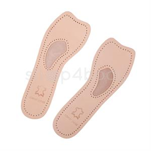3/4 Forfodsindlæg i læder (1 par).