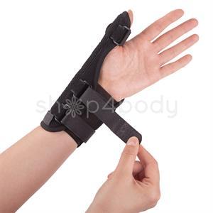 Tommelfinger- og håndledsstøtte med Aluminiumsskinne - 1 stk.