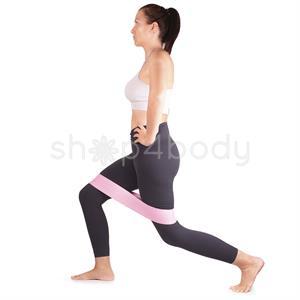 Træningselastik til træning af ben og baller - 3 stk i pakken.