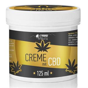 Creme med CBD - 125 ml.